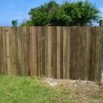 wooden fence hermanus